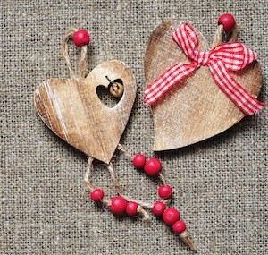 bijou en forme de coeur